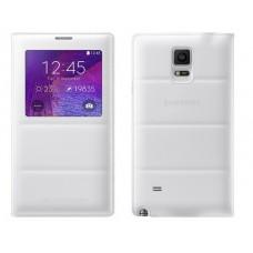 Futrola View cover za Samsung N910 Note 4 bela