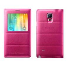 Futrola View cover za Samsung N910 Note 4 pink