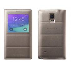 Futrola View cover za Samsung N910 Note 4 zlatna