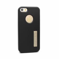 Futrola silikonska Spigen color za Iphone 5 / 5s crna