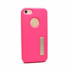 Futrola silikonska Spigen color za Iphone 5 / 5s pink