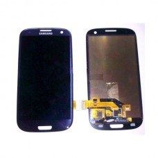 LCD Displej za Samsung I9300 Galaxy S3+touch screen PLAVI+FRAME