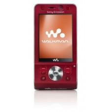 Maska  za Sony ericsson W910i crvena full ORG