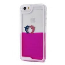 Futrola Float za iPhone 5 / 5s Dolphins pink