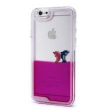 Futrola Float za iPhone 6 4.7 Dolphins pink