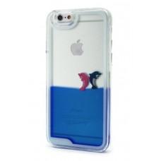 Futrola Float za iPhone 6 4.7 Dolphins plava