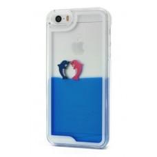 Futrola Float za Samsung G920 Galaxy S6 Dolphins plava