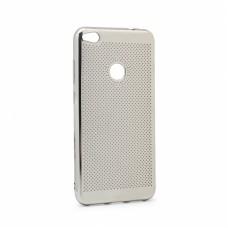 Futrola Breathe za Huawei Honor 8 lite /P8 lite 2017 /P9 lite 2017 srebrna