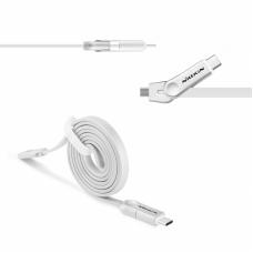 Data kabal Nillkin Plus III USB Type C /micro USB beli 1m