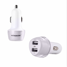 Auto punjac Nillkin Jelly dual USB 3.4A beli