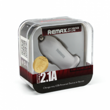 Auto punjac Remax CC101 USB 2.1A beli