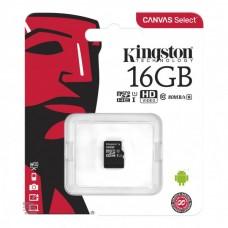 Mem. kartica KINGSTON Micro SD 16GB bez adaptera SDCS2/16GBSP