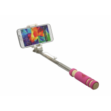 Selfie stick mini ZX-4S kabal 3.5mm pink