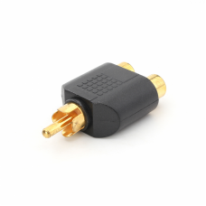 Adapter RCA M na 2RCA Z HWD-AD34