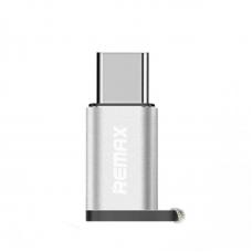 Adapter REMAX Feliz micro USB na Type C