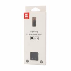 Adapter za slusalice i punjenje IP-13 iPhone lightning crni
