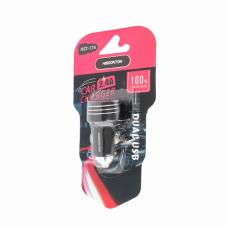 Auto punjac Hisoonton HST-174 dual USB 2.4A crni