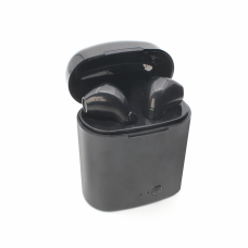 Bluetooth slusalice Airpods i7s TWS crne