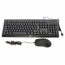 Combo mis i tastatura HP KM100 crni