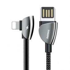 Data kabl + holder Remax Qiker gaming RC-061 USB na iPhone lightning crni 1.2m