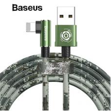 Data kabl Baseus Camouflage za iPhone zeleni 1m