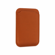 Drzac za kartice Leather Wallet svetlo braon