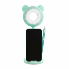 Drzac za mobilni sa LED rasvetom makeup K5 zeleni