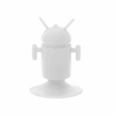 Drzac za mobilni telefon Robot beli