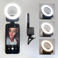 LED selfie svetlo belo