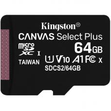 Mem. kartica KINGSTON Micro SD 64GB bez adaptera SDCS2/64GBSP
