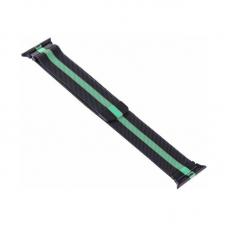 Narukvica metalik za Apple watch 42mm crno zelena