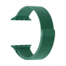 Narukvica metalik za Apple watch 42mm tamno zelena