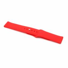 Narukvica plain za smart watch 22mm crvena
