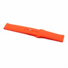 Narukvica plain za smart watch 22mm narandzasta