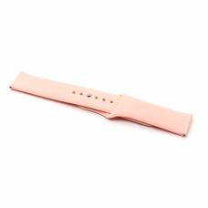 Narukvica plain za smart watch 22mm roze