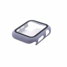 Tempered glass (staklo) case za iWatch 40mm ljubicasta