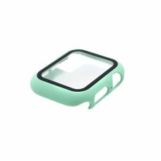 Tempered glass (staklo) case za iWatch 40mm svetlo zelena