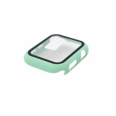 Tempered glass (staklo) case za iWatch 44mm svetlo zelena
