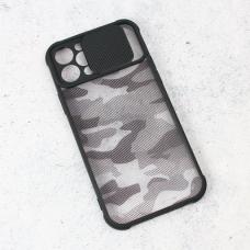Futrola Army Shield za iPhone 12 Pro 6.1 crna