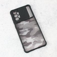 Futrola Army Shield za Samsung A525F/A526B Galaxy A52 4G/5G (EU) crna