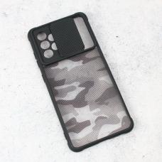 Futrola Army Shield za Samsung A725F/A726B Galaxy A72 4G/5G (EU) crna