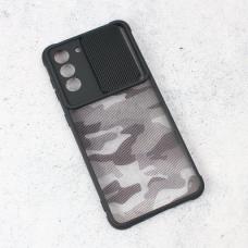 Futrola Army Shield za Samsung G991B Galaxy S21 crna