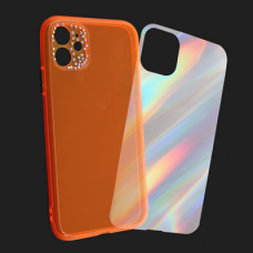 Futrola Camera Crystal iPhone 11 6.1 narandzasta