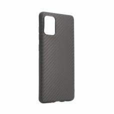 Futrola Carbon fiber za Samsung A715F Galaxy A71 crna