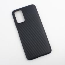 Futrola Carbon fiber za Xiaomi Poco M3 crna