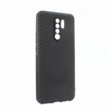 Futrola Carbon fiber za Xiaomi Redmi 9 crna