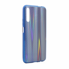 Futrola Carbon glass za Huawei Honor 9A plava