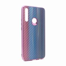 Futrola Carbon glass za Huawei P Smart Z/Y9 Prime 2019/Honor 9X (EU) svetlo plava