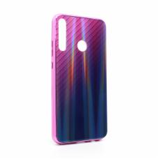 Futrola Carbon glass za Huawei P40 lite E ljubicasta