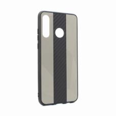 Futrola Carbon Line za Huawei P30 Lite siva
